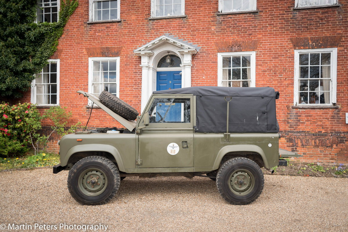 1990 Landrover Defender Military FFR For Sale (picture 8 of 24)
