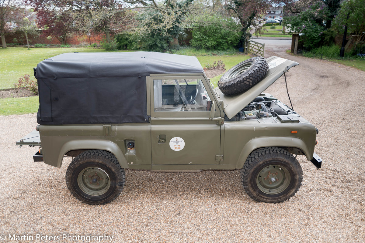 1990 Landrover Defender Military FFR For Sale (picture 9 of 24)