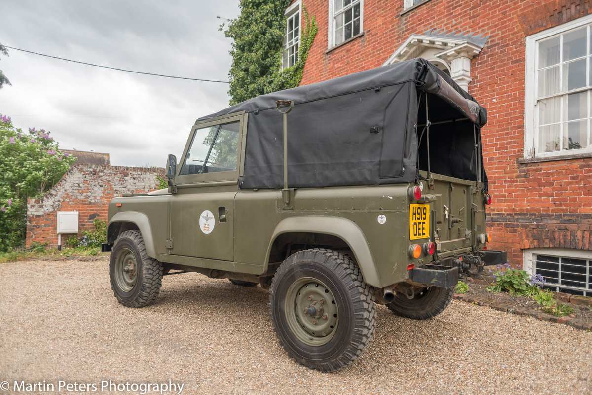 1990 Landrover Defender Military FFR For Sale (picture 14 of 24)