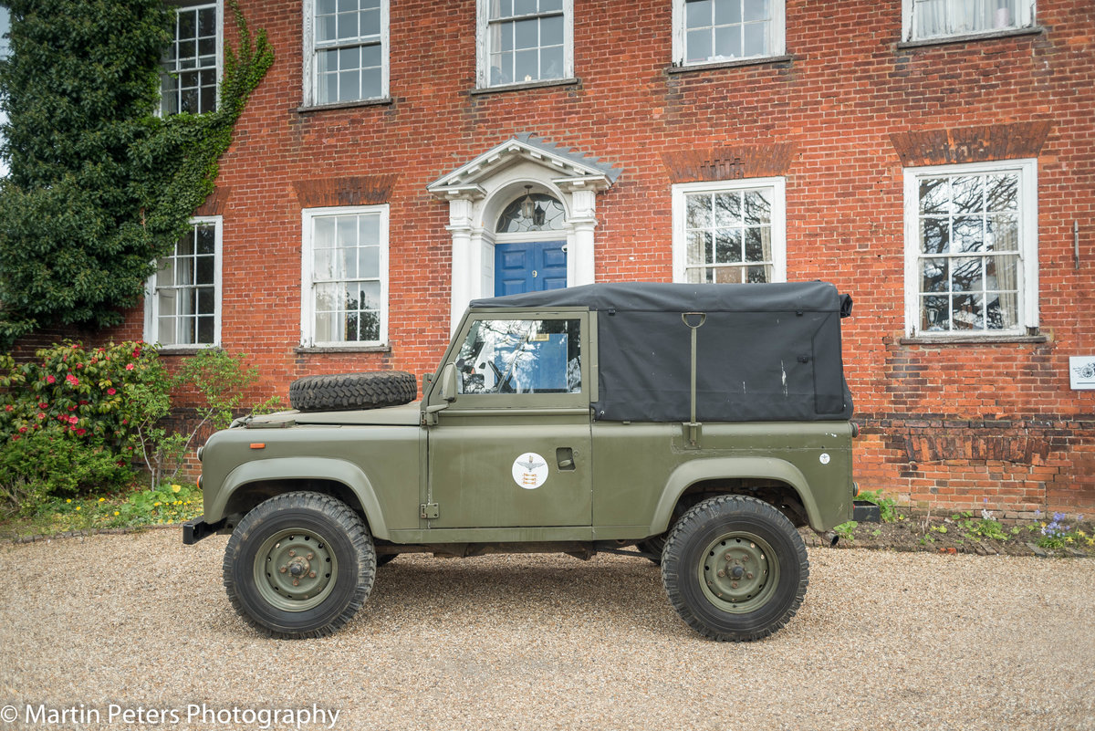 1990 Landrover Defender Military FFR For Sale (picture 15 of 24)