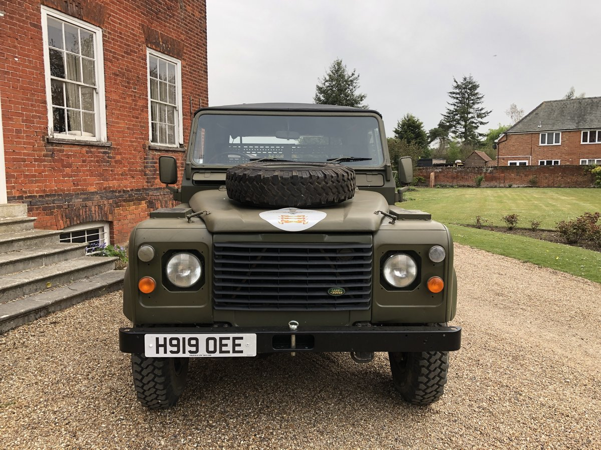 1990 Landrover Defender Military FFR For Sale (picture 21 of 24)