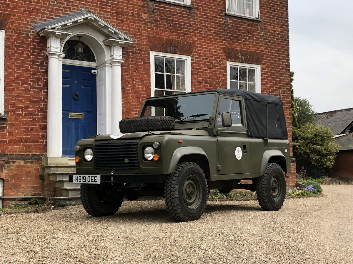 1990 Landrover Defender Military FFR For Sale (picture 24 of 24)