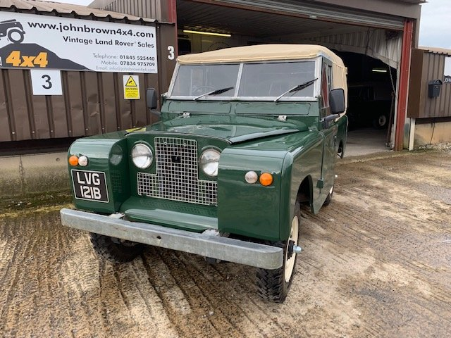 1964 Land Rover® Series 2a *Galvanised Chassis Ragtop* (LVG) For Sale (picture 1 of 6)