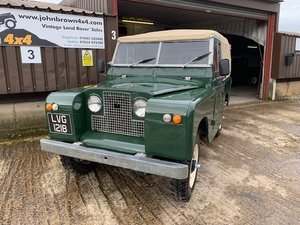 1964 Land Rover® Series 2a *Galvanised Chassis Ragtop* (LVG) For Sale