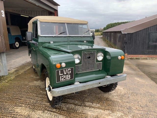 1964 Land Rover® Series 2a *Galvanised Chassis Ragtop* (LVG) For Sale (picture 2 of 6)
