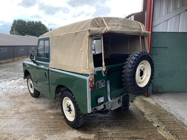 1964 Land Rover® Series 2a *Galvanised Chassis Ragtop* (LVG) For Sale (picture 3 of 6)