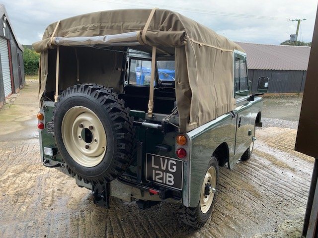 1964 Land Rover® Series 2a *Galvanised Chassis Ragtop* (LVG) For Sale (picture 4 of 6)