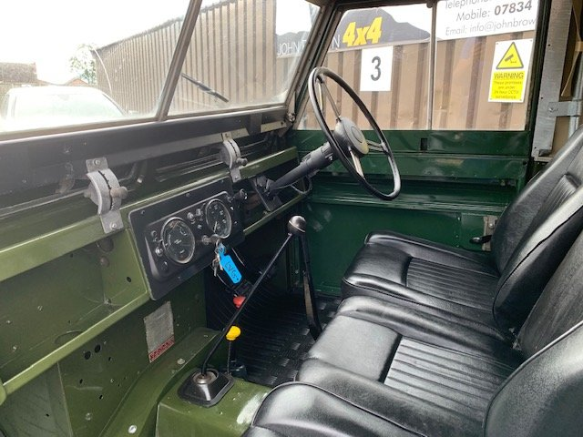 1964 Land Rover® Series 2a *Galvanised Chassis Ragtop* (LVG) For Sale (picture 5 of 6)