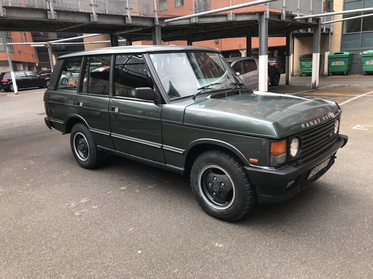 1989 Range Rover Classic For Sale (picture 1 of 6)