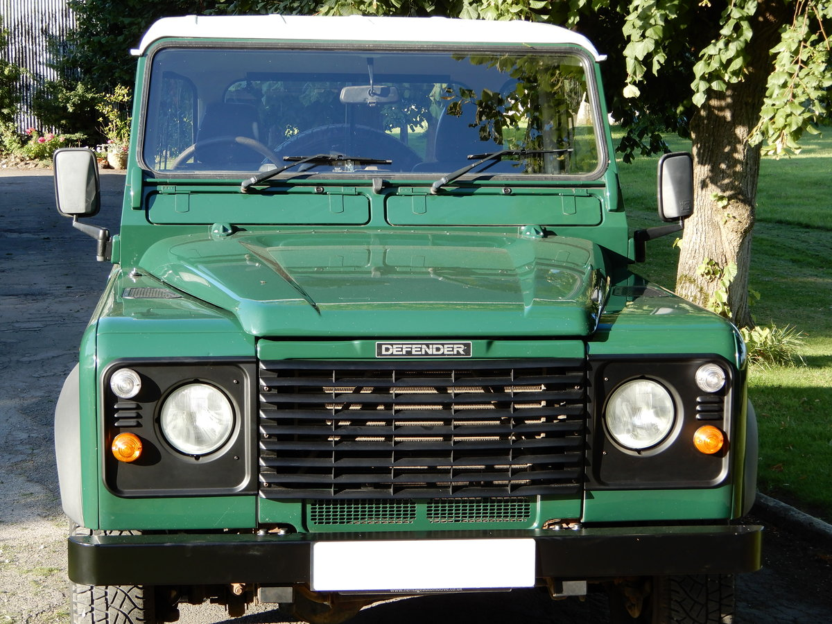 2005 Land Rover Defender 90 Truck Cab SOLD (picture 2 of 6)