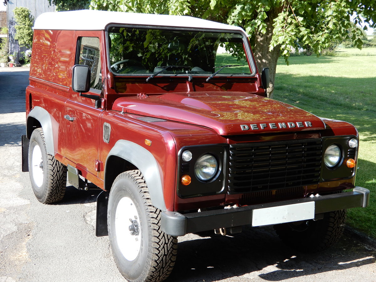 2015 Land Rover Defender 90 Hard Top For Sale (picture 1 of 4)