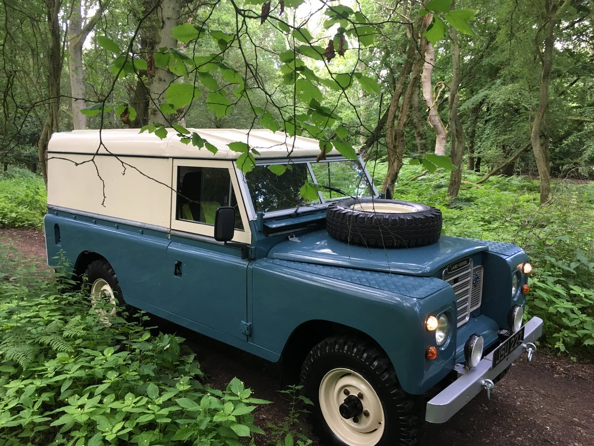 1960 Landrover Series 3 / 109 – 2,286cc Petrol SOLD (picture 1 of 6)