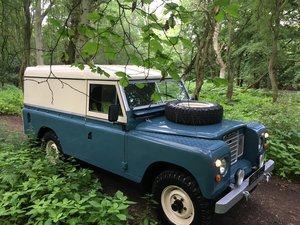 1960 Landrover Series 3 / 109 – 2,286cc Petrol SOLD