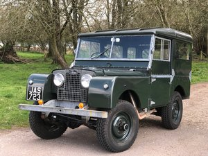 "1952 Land Rover 80"" Series One. Fully restored, For Sale"