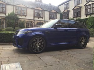 2018 RANGE ROVER SPORT SVR 5.0 V8 FACELIFT For Sale