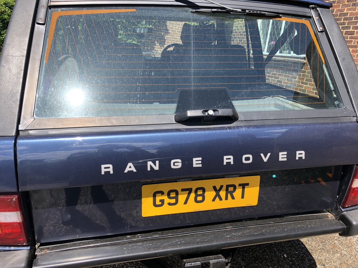 1990 Range Rover Vogue 3.9 V8 For Sale (picture 1 of 5)