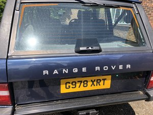 1990 Range Rover Vogue 3.9 V8 For Sale