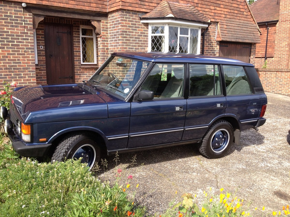 1990 Range Rover Vogue 3.9 V8 For Sale (picture 2 of 5)