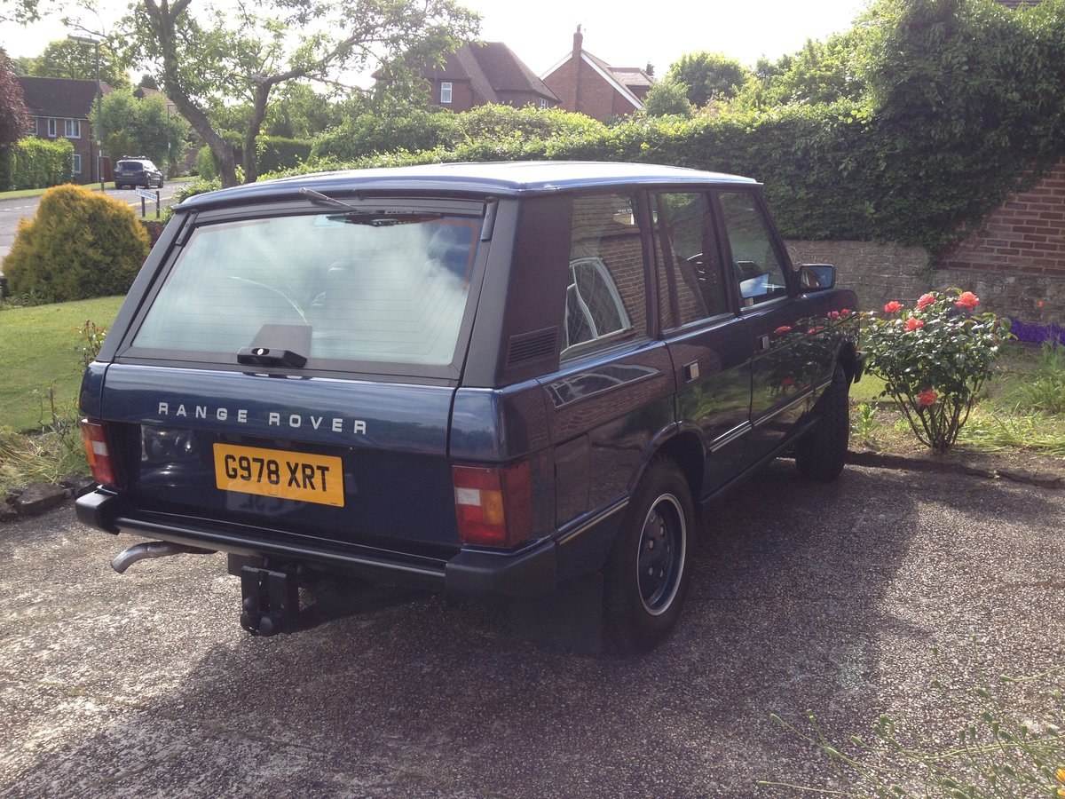 1990 Range Rover Vogue 3.9 V8 For Sale (picture 3 of 5)