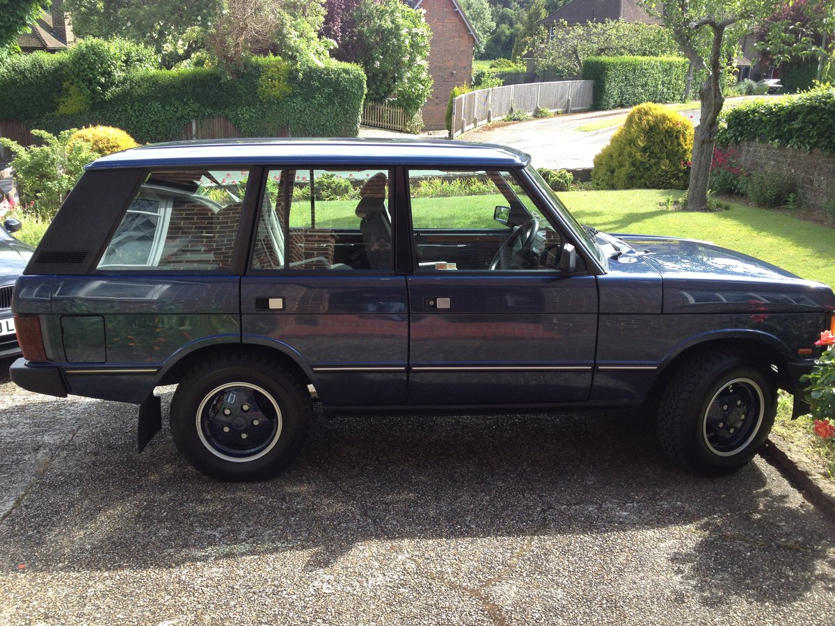 1990 Range Rover Vogue 3.9 V8 For Sale (picture 4 of 5)