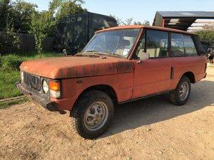 1984 Range Rover Classic ,2 Door, restoration project  SOLD