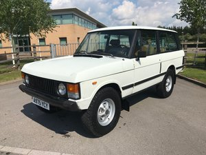 1984 Range Rover 2 door 3.5 V8 Rust Free USA EXPORT LHD For Sale