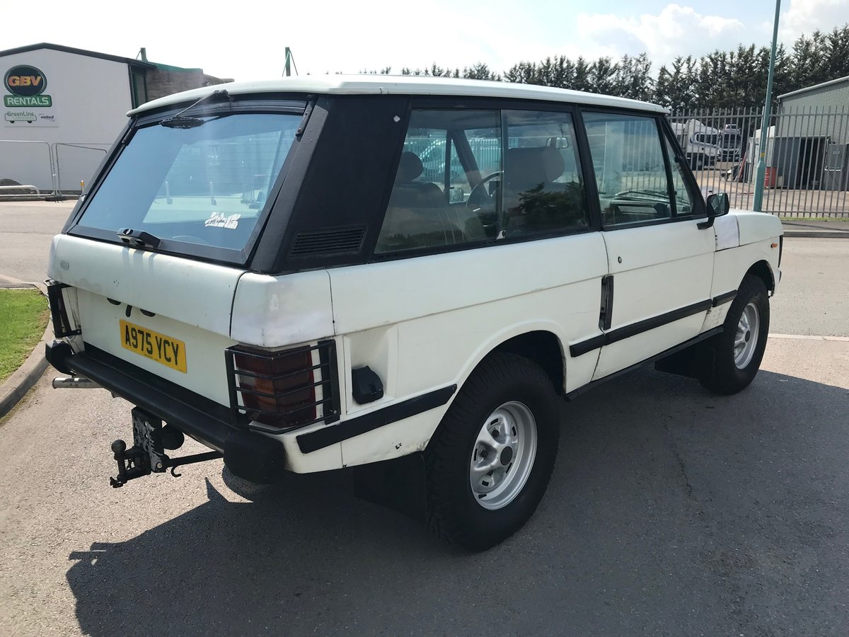 1984 Range Rover 2 door 3.5 V8 Rust Free USA EXPORT LHD For Sale (picture 3 of 6)