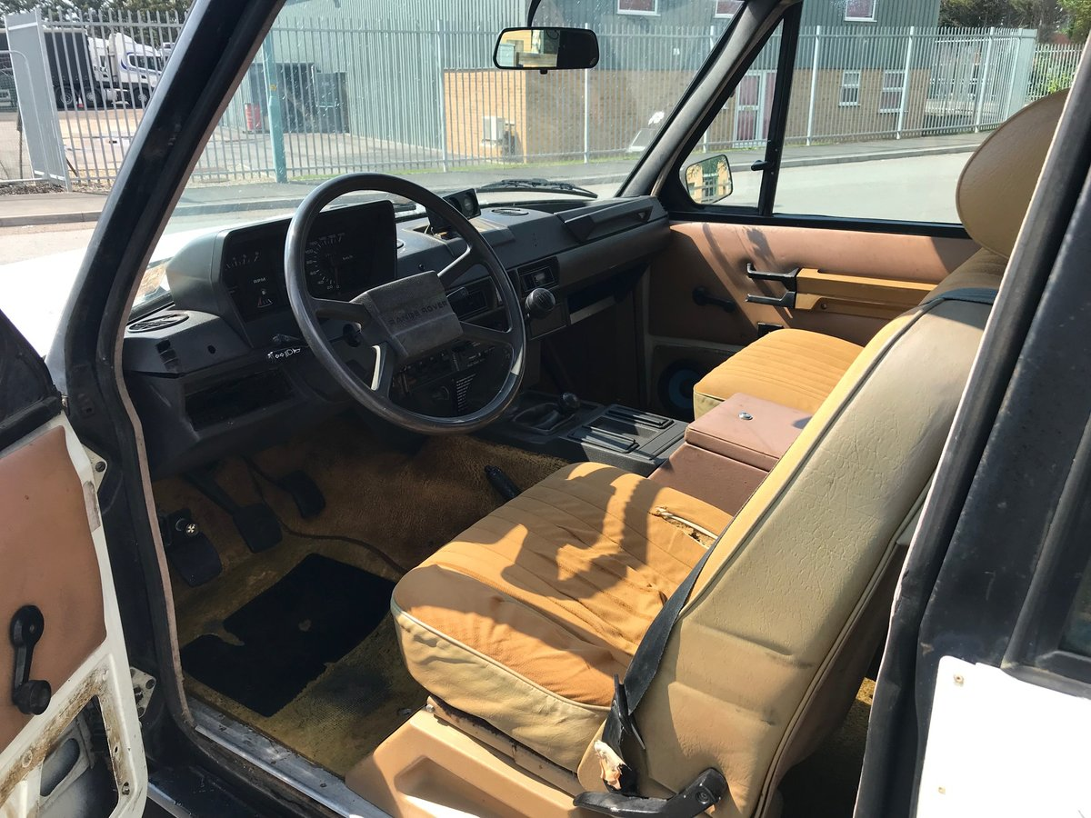 1984 Range Rover 2 door 3.5 V8 Rust Free USA EXPORT LHD For Sale (picture 4 of 6)
