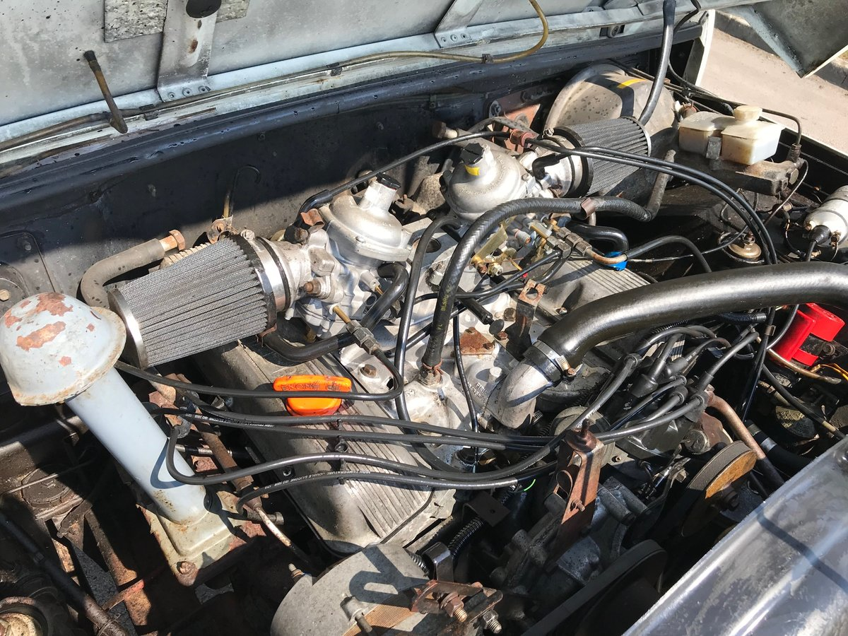 1984 Range Rover 2 door 3.5 V8 Rust Free USA EXPORT LHD For Sale (picture 5 of 6)