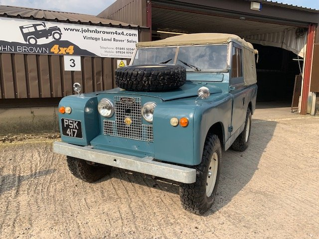 1959 Land Rover® Series 2 *Galvanised Chassis Ragtop* (PSK) For Sale (picture 1 of 6)