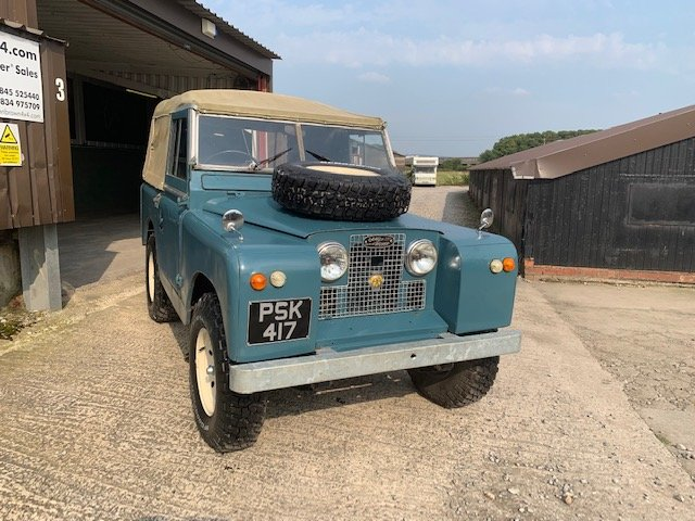 1959 Land Rover® Series 2 *Galvanised Chassis Ragtop* (PSK) For Sale (picture 2 of 6)