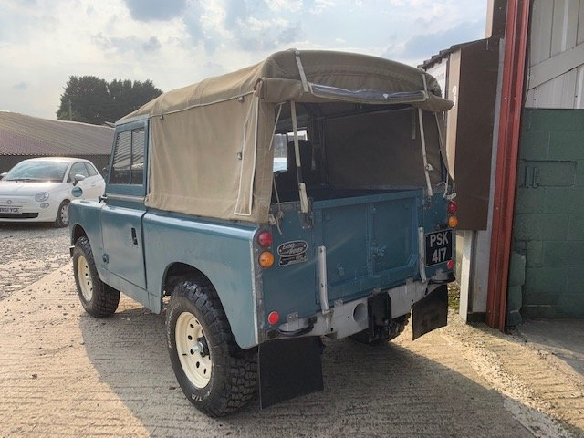 1959 Land Rover® Series 2 *Galvanised Chassis Ragtop* (PSK) For Sale (picture 3 of 6)