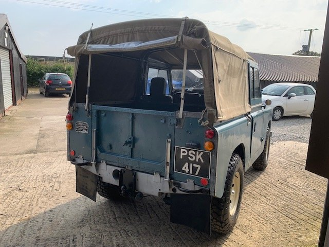 1959 Land Rover® Series 2 *Galvanised Chassis Ragtop* (PSK) For Sale (picture 4 of 6)