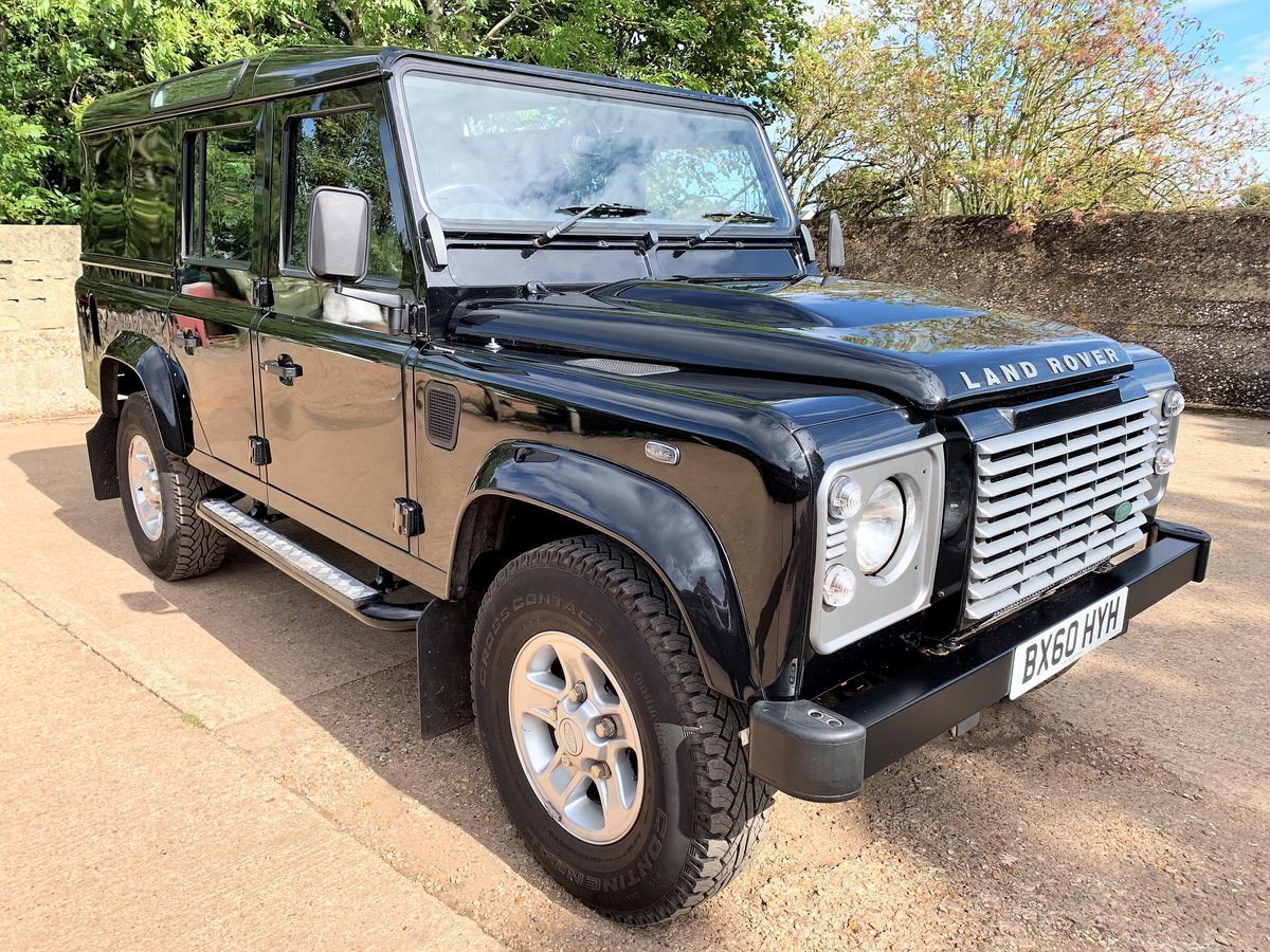 superb 2010 Defender 110 TDCi XS utility wagon+39000m SOLD (picture 1 of 6)