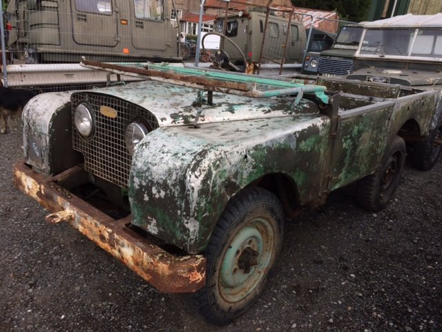 Full Grill 1950 Series 1 Land Rover 80 inch For Sale (picture 1 of 6)
