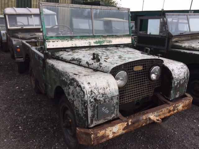 Full Grill 1950 Series 1 Land Rover 80 inch For Sale (picture 2 of 6)
