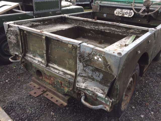 Full Grill 1950 Series 1 Land Rover 80 inch For Sale (picture 4 of 6)