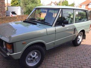 1982 Range Rover 2 Door  For Sale