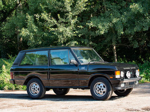 1995 RANGE ROVER CSK 3.9-LITRE 4X4 ESTATE For Sale by Auction