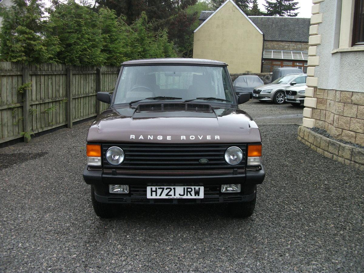 1990 Range Rover 2 door classic RHD For Sale (picture 2 of 6)