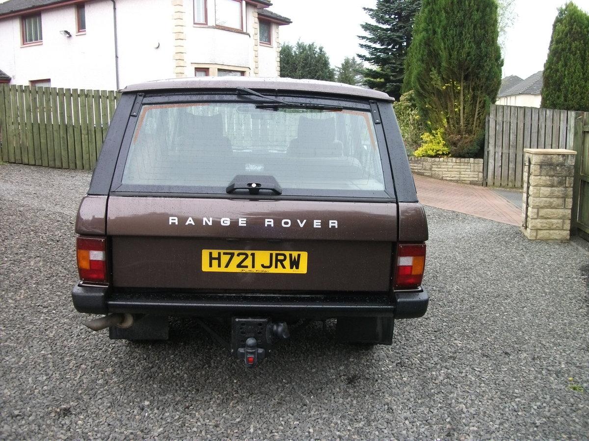 1990 Range Rover 2 door classic RHD For Sale (picture 3 of 6)