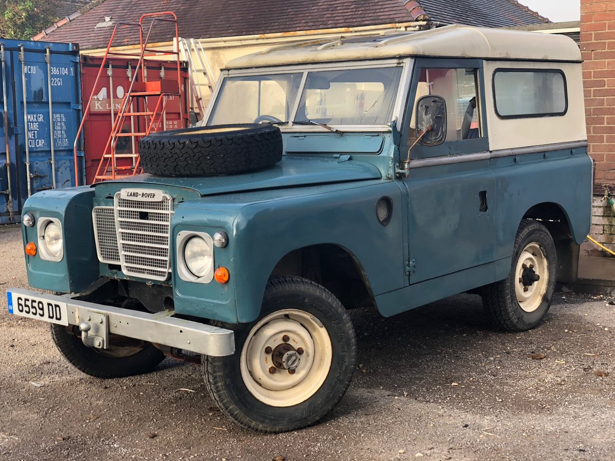 1962 Land Rover Series 2A - 2.25 diesel SOLD (picture 1 of 6)