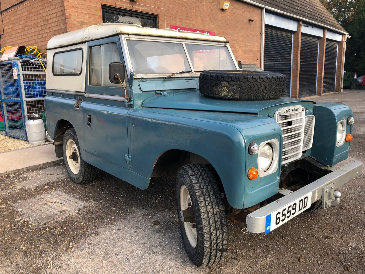 1962 Land Rover Series 2A - 2.25 diesel SOLD (picture 4 of 6)