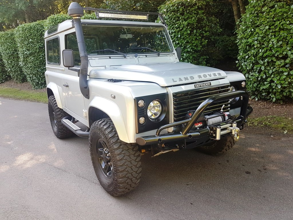 2006 LHD LAND ROVER DEFENDER 90 TD5 COUNTY For Sale (picture 1 of 6)