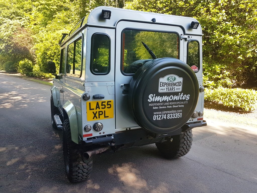 2006 LHD LAND ROVER DEFENDER 90 TD5 COUNTY For Sale (picture 3 of 11)