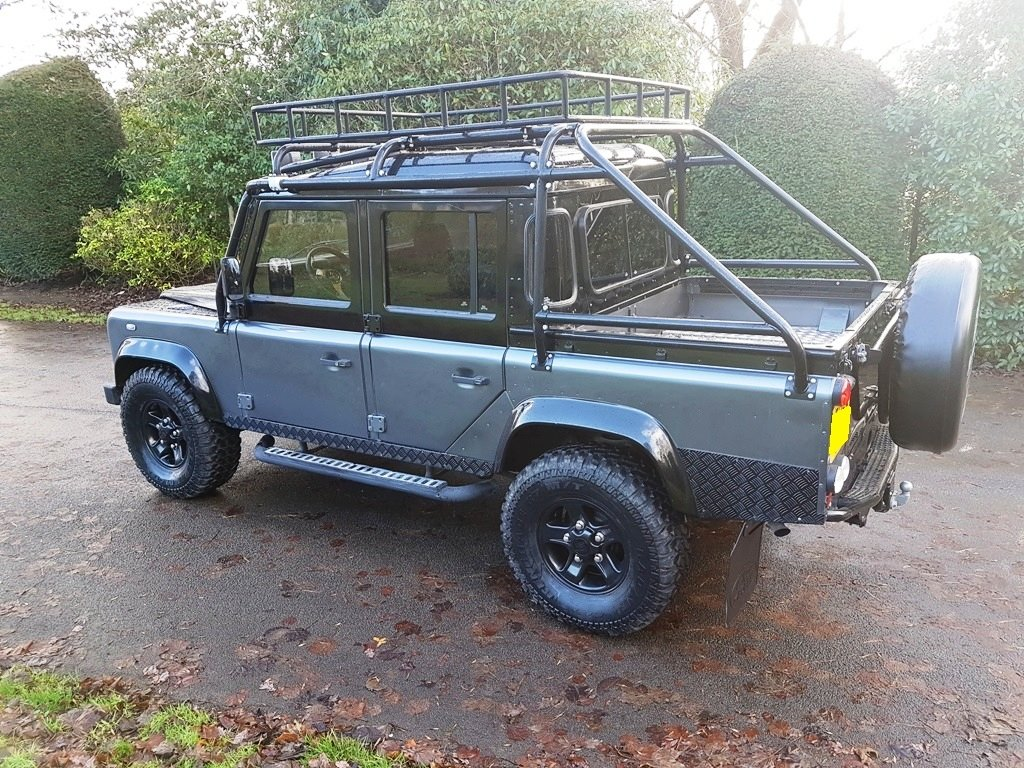 1986 LAND ROVER DEFENDER 300 TDI 110 DOUBLE CAB PICKUP For Sale (picture 2 of 6)