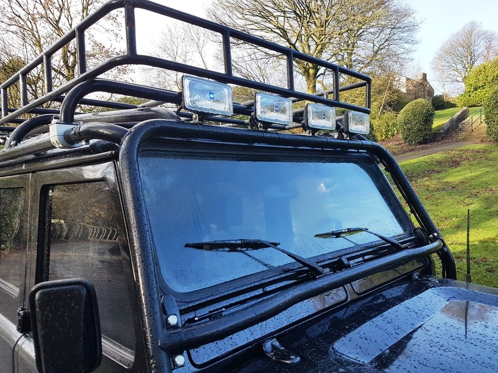 1986 LAND ROVER DEFENDER 300 TDI 110 DOUBLE CAB PICKUP For Sale (picture 5 of 6)