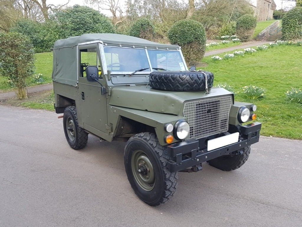 1977 LAND ROVER LTWT SERIES 3 DIESEL LHD For Sale (picture 1 of 6)