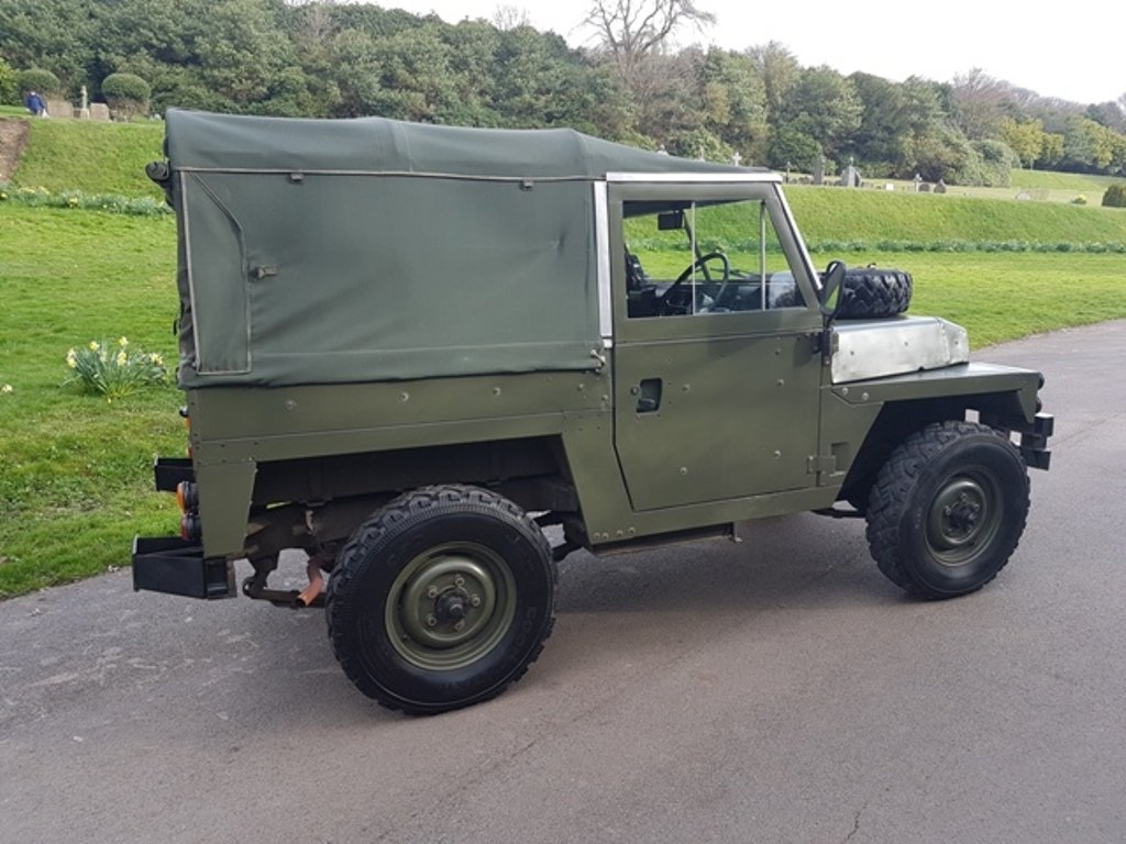 1977 LAND ROVER LTWT SERIES 3 DIESEL LHD For Sale (picture 2 of 6)