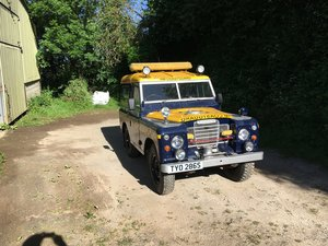 1978 Land Rover Series 3 on galvanised chassis